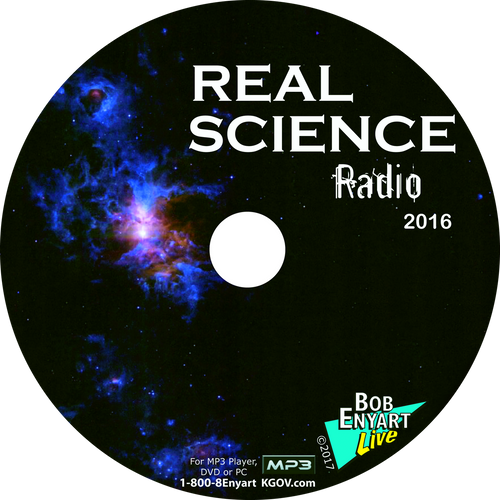 Real Science Radio 2016 MP3-CD