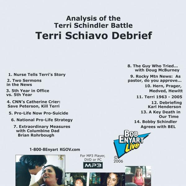 Terri Schiavo Debrief MP3