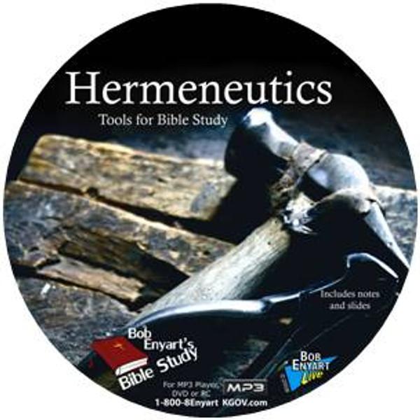 Hermeneutics: Tools for Studying the Bible MP3