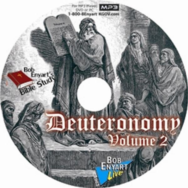 Deuteronomy Vol. II MP3-CD or MP3 Download