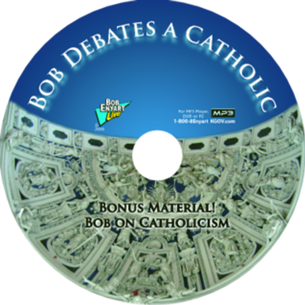 Bob Debates a Catholic MP3-CD or MP3 Download