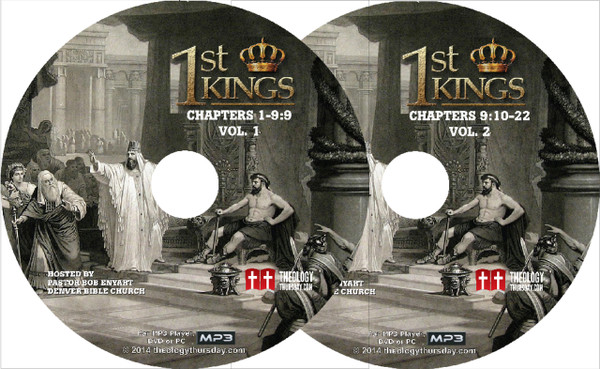1 Kings MP3-CD Set or MP3 Download