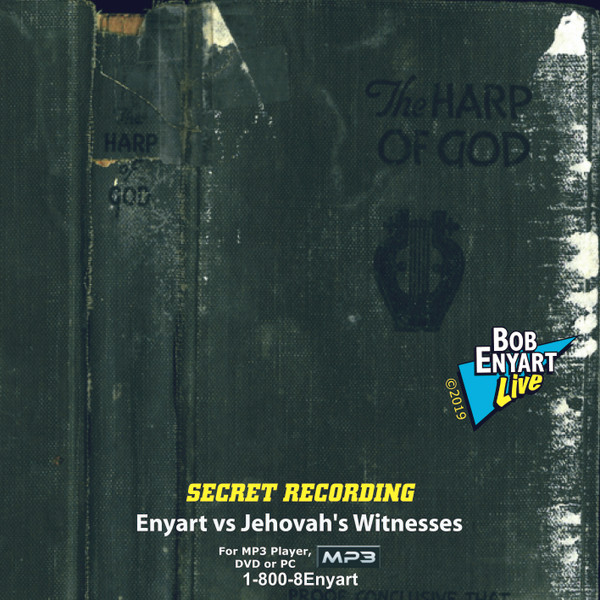 Secret Recording Enyart Vs. Jehovah's Witnesses MP3-Audio CD