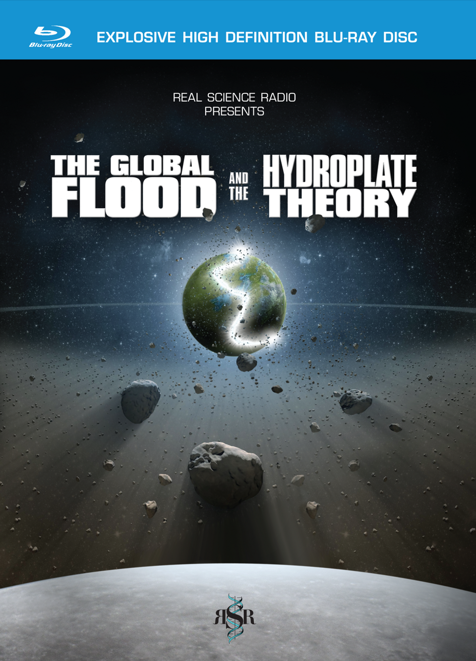 The Global Flood and the Hydroplate Theory - Blu-ray, 2-DVD Set or HD Download