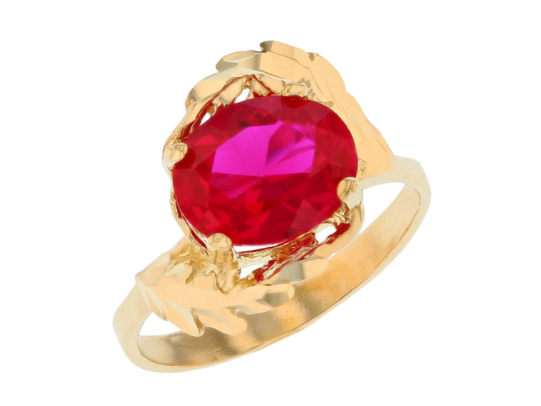Ladies Floral Bypass Design Ring (JL#11720)