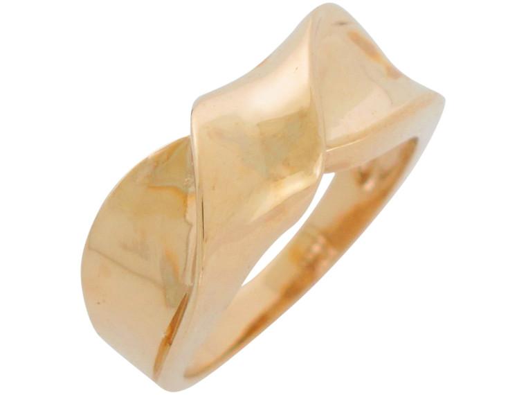 Gorgeous Bow Knot Design High Polish Modern Ladies Ring (JL#10965)