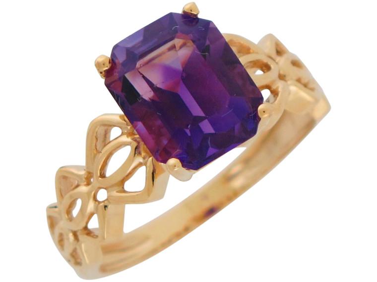 Unique Natural Accented Filigree Design Ladies Ring (JL#10966)