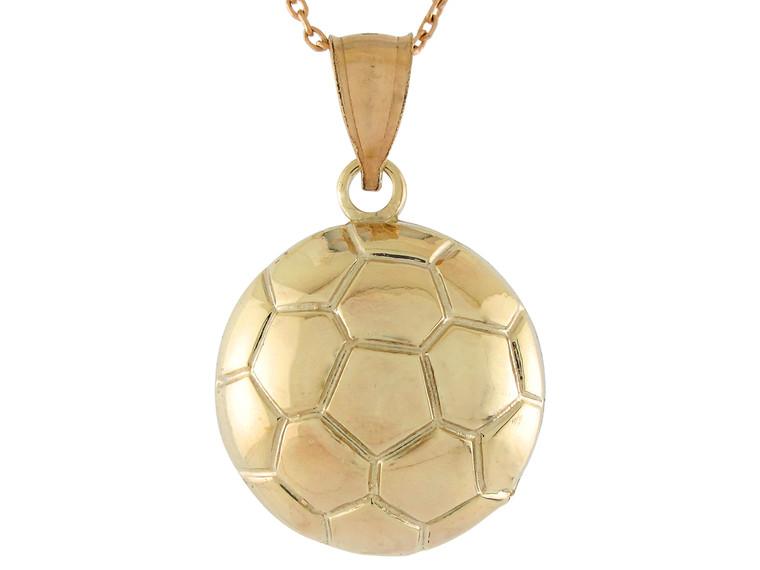 High Polish Sports Soccer Futbol Ball Pendant (JL#10761)