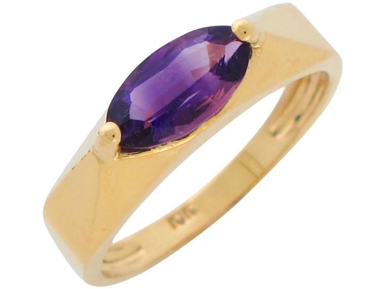Marquise Cut Genuine Ladies Geometric Ring (JL# R10900)