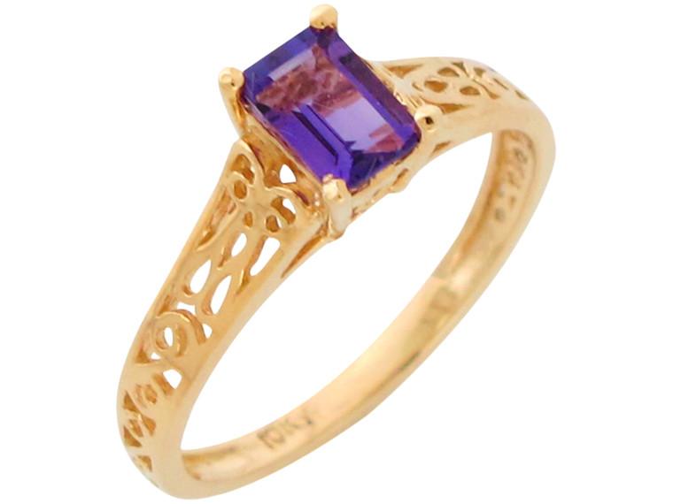 Gorgeous Natural Ladies Stunning Filigree Ring (JL#10909)