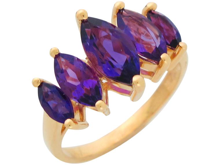 Ladies Natural Five Stone Anniversary Ring (JL#10943)