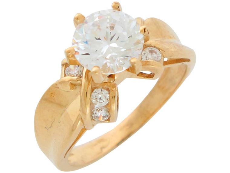 Ladies Georgeous Bow Tie Design Engagement Ring (JL#10947)