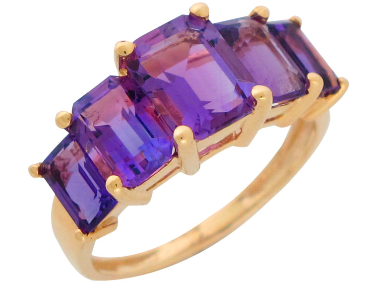 Ladies Natural Bold Five Stone Anniversary Ring (JL#10945)