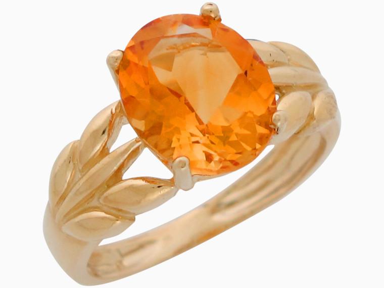 Real Set Ladies Flower Floral Gorgeous Ring (JL# R11120)