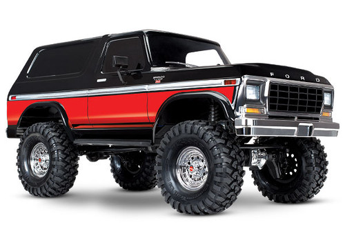 TRX-4 Scale and Trail Crawler with Ford Bronco Body:RED