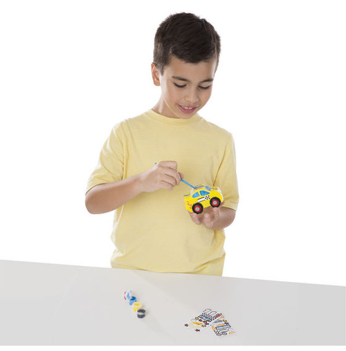 8+ years Craft Kits Decorate-Your-Own Race Car Bank