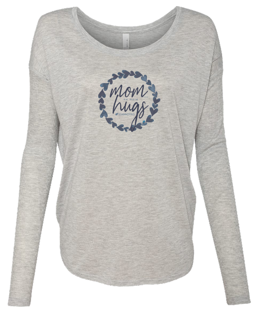 Mom Hugs Ladies Long Sleeve