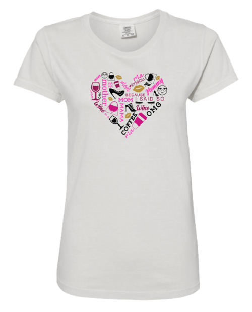 Heart Collage T-Shirt