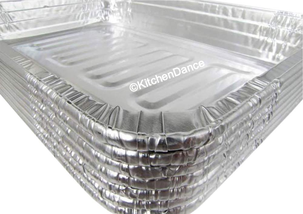 disposable aluminum foil roaster baking pan - medium size