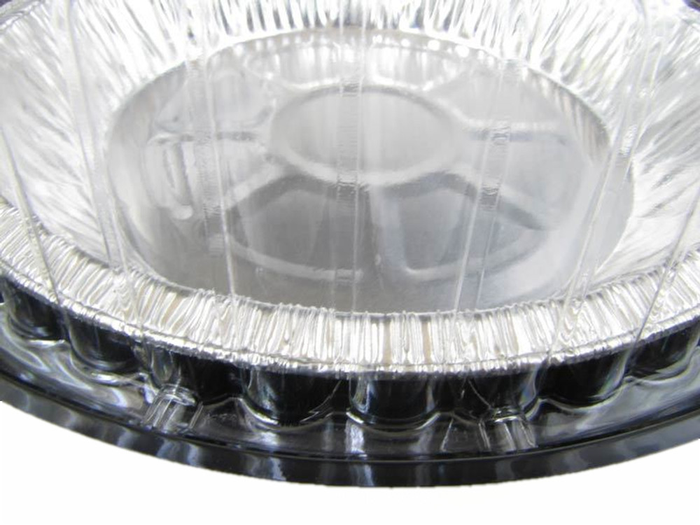 """9"""" Two Piece Pie Container with Low Dome Lid    #WJ40"""