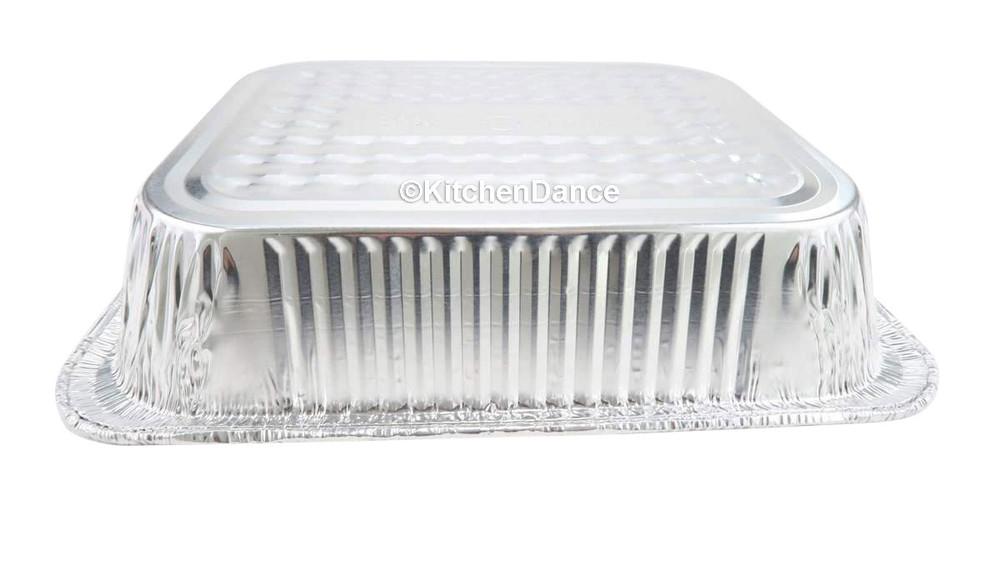 disposable aluminum foil 1/2 size shallow steamtable pan, baking pan