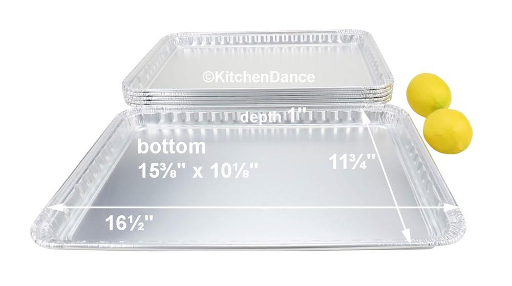 disposable aluminum foil cookie sheets, baking trays