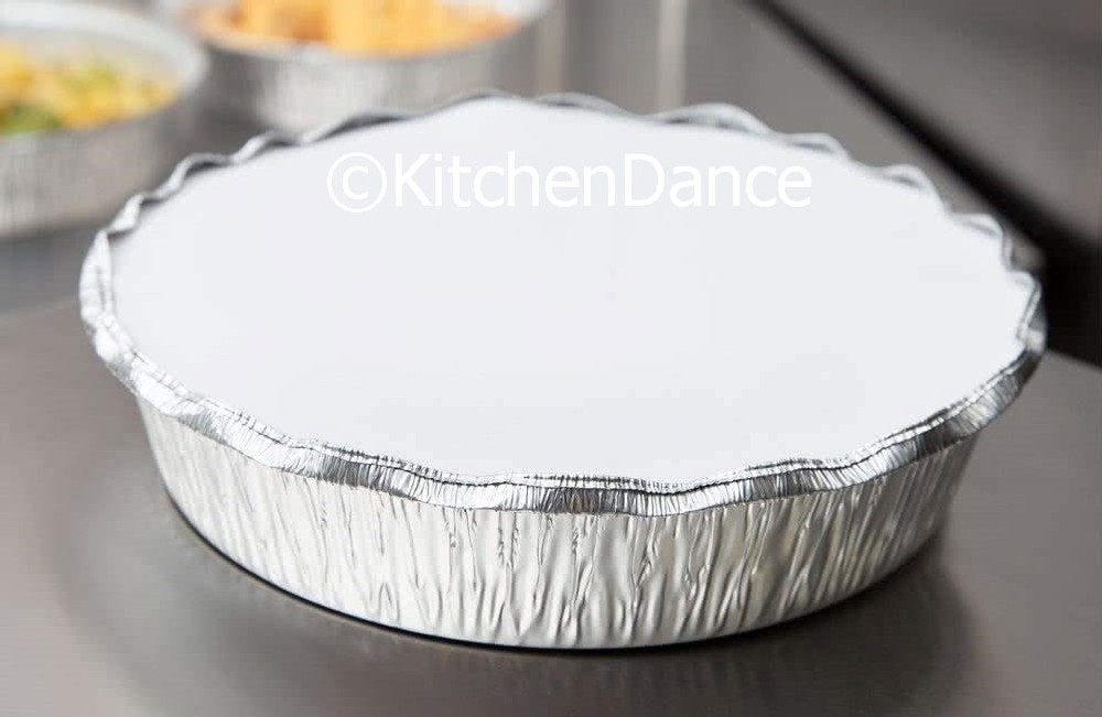 "disposable aluminum foil 8"" carryout pans, takeout pans, baking pans, food containers"
