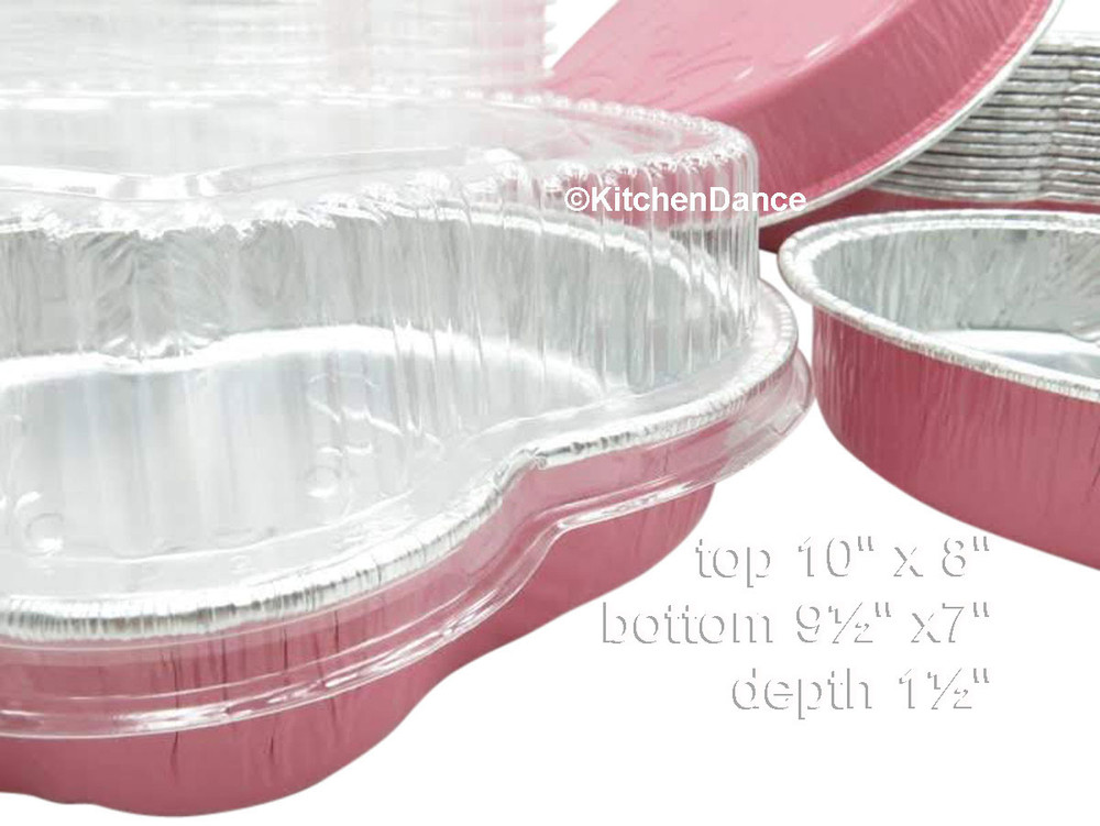 disposable aluminum foil easterbunny shapped pan, colored holiday baking pan