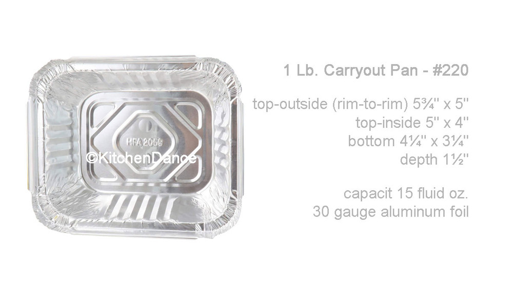 disposable aluminum foil 1lb. carryout pan, takeout pans, baking pans, food serving pans