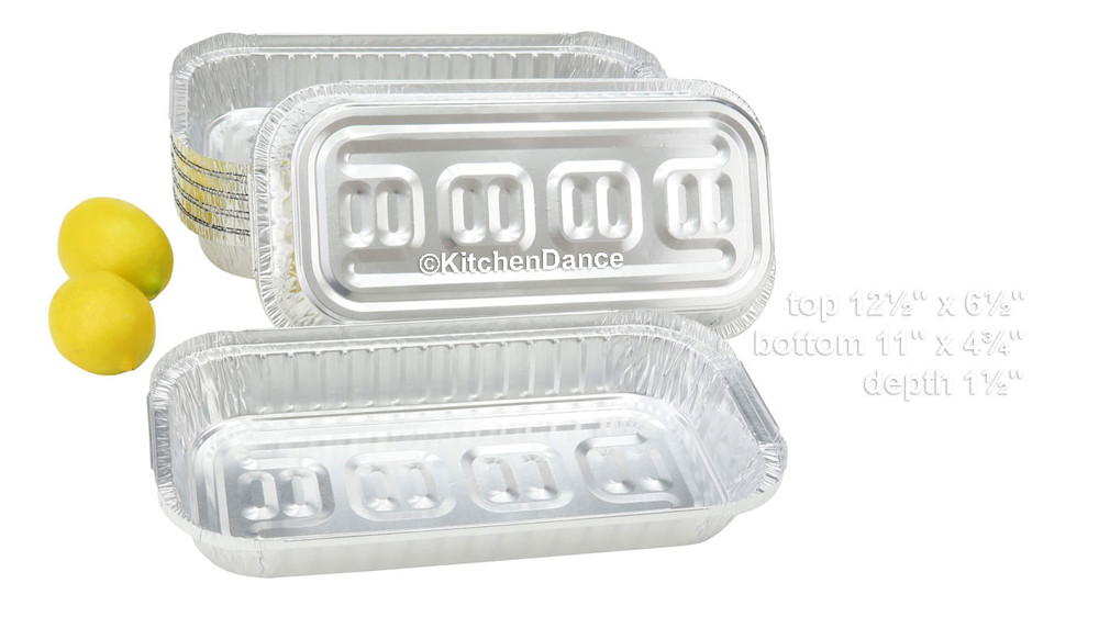 disposable aluminum foil 3 LB. carryout/takeout pans, baking pans, food containers