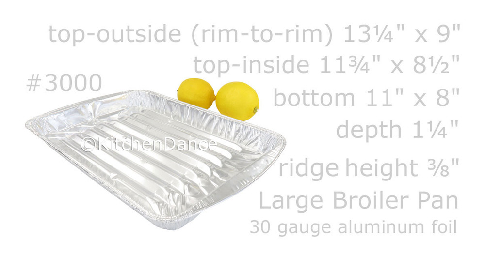 disposable aluminum foil large broiler pan, baking pan