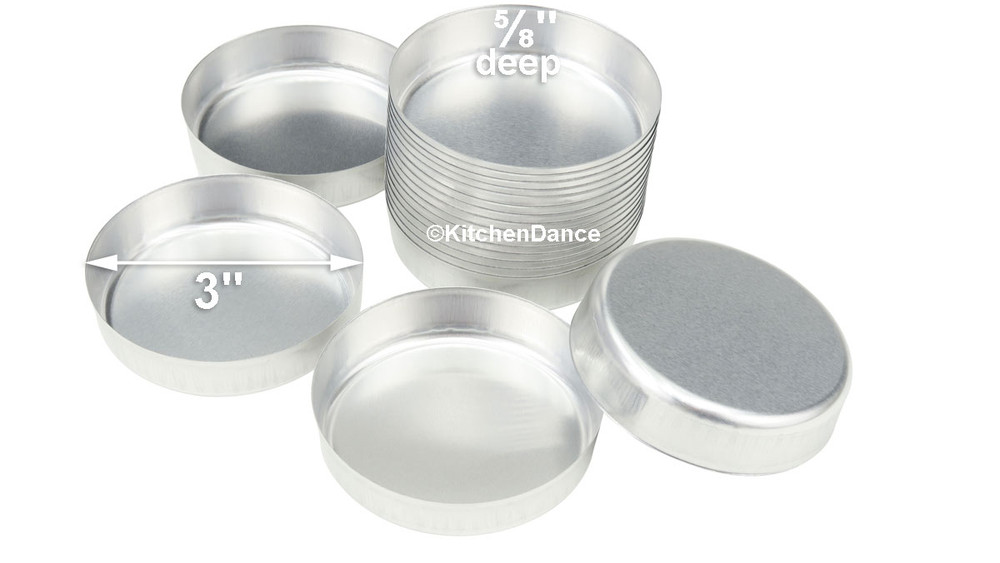 disposable aluminum foil 70mm smooth wall weighing dish