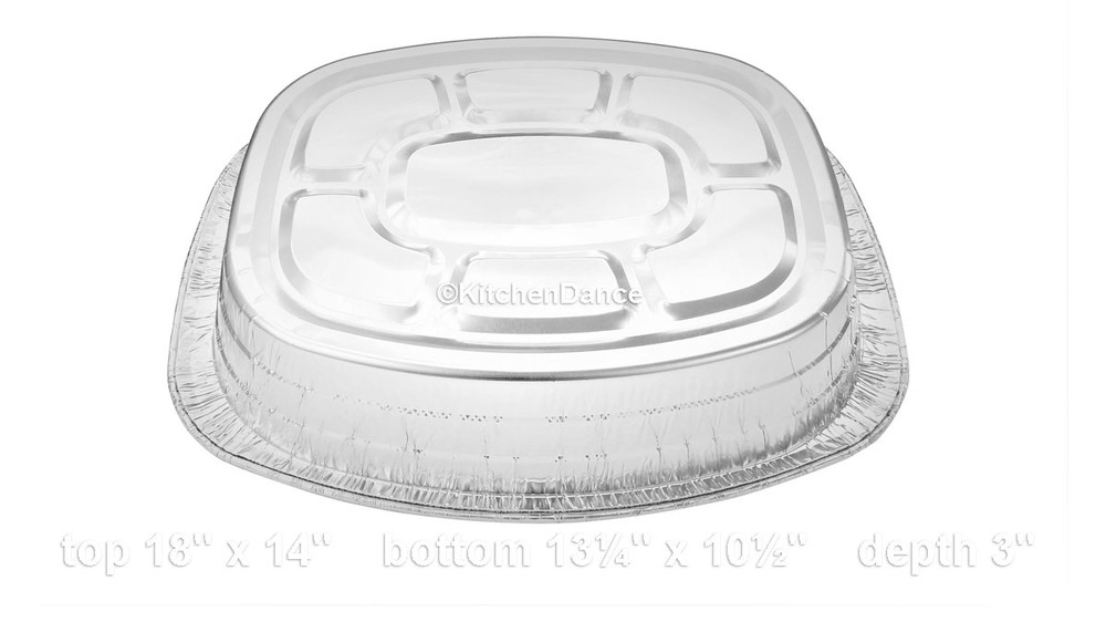 disposable aluminum foil deep roaster pan, baking pan