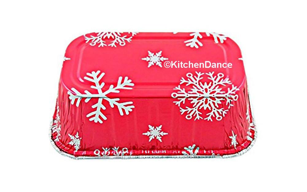 disposable aluminum foil 1 lb. loaf pan, holiday baking pan