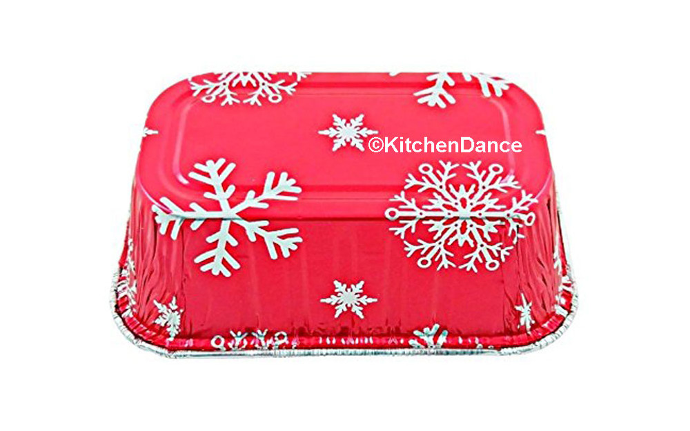 disposable aluminum foil 1 lb. loaf pan, holiday baking pan