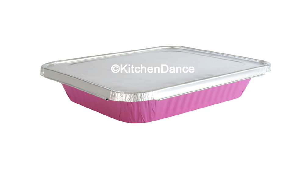 disposable aluminum foil half size steam table pans