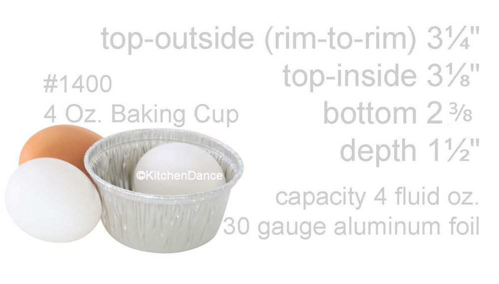 Disposable 4oz Foil Ramekin