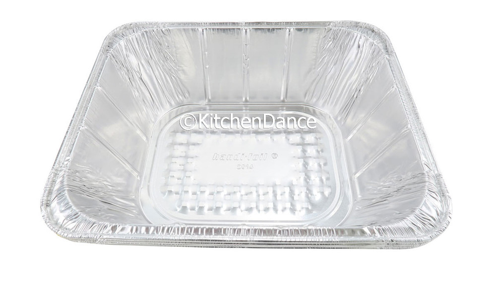 disposable aluminum foil half size steam table baking pan - extra deep
