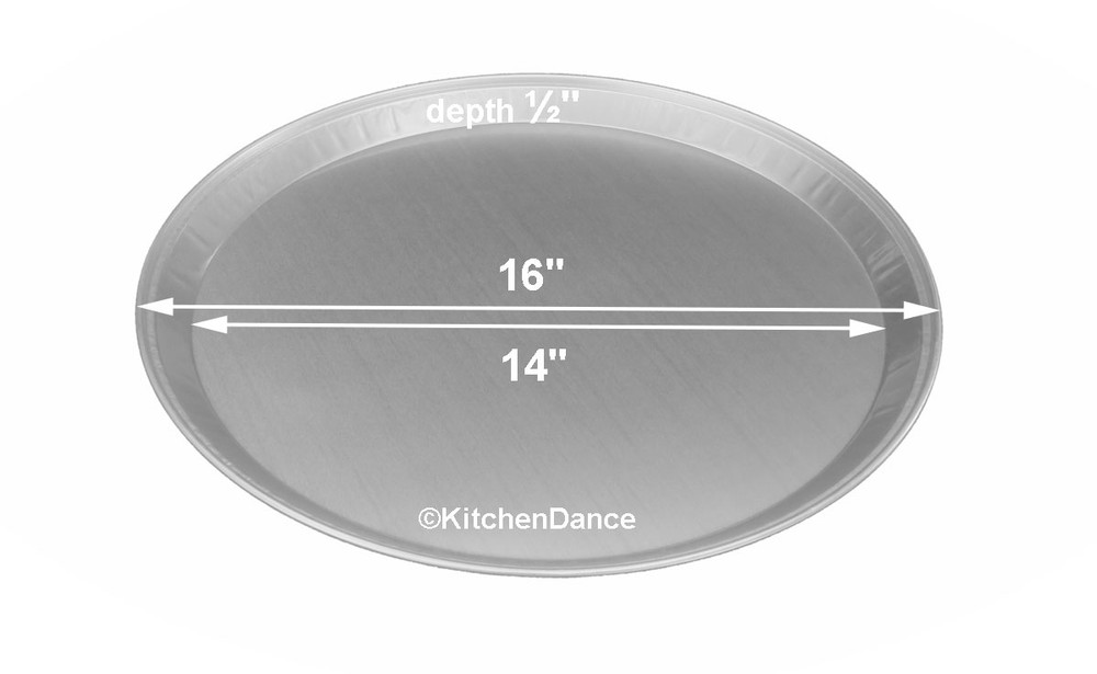 "disposable aluminum foil 16"" catering or serving tray"