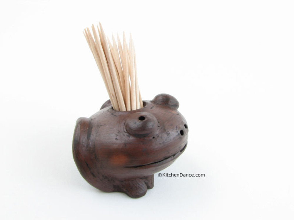Toothpick Clay Holder