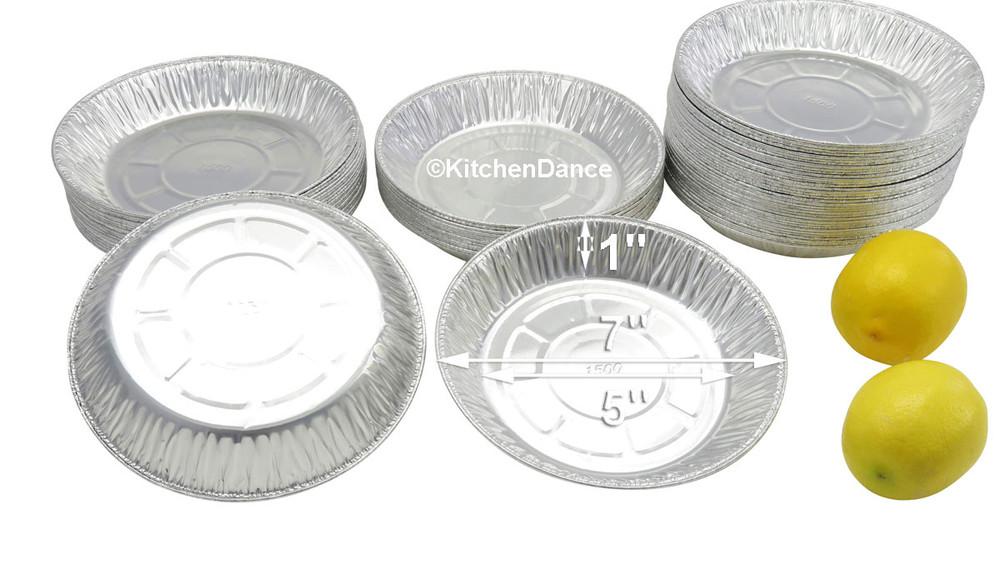 """disposable aluminum foil 7"""" pie pan, baking pans"""