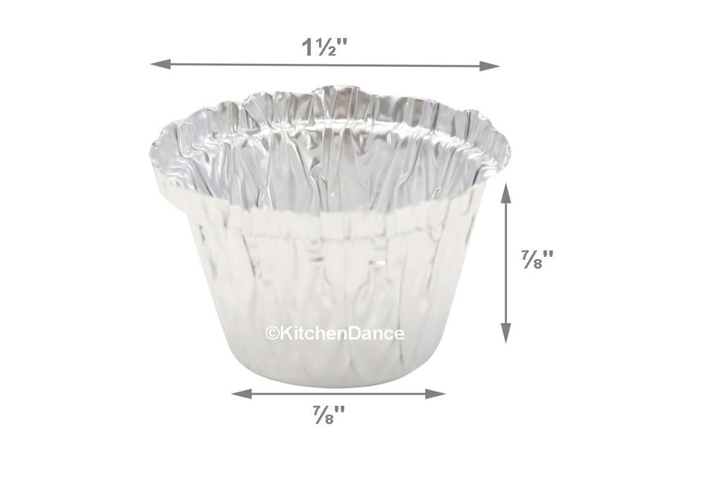 disposable aluminum foil ½oz. utility cups