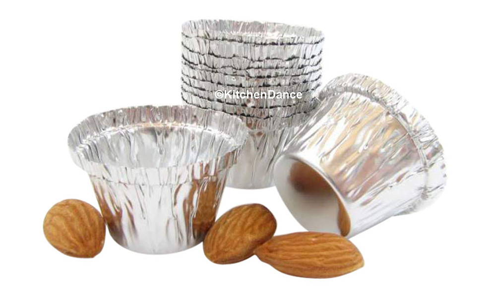 disposable aluminum foil 0.5 ounce mini baking cups