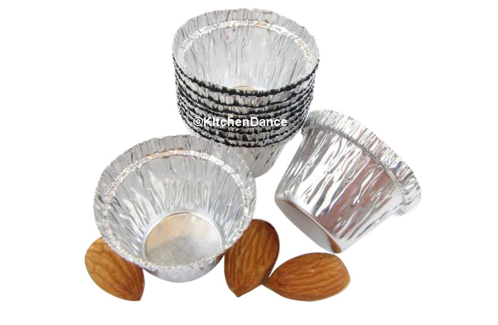 disposable aluminum foil 0.5 oz. mini baking cups