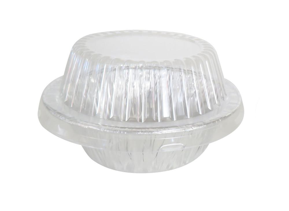 """disposable aluminum foil 5¾"""" pot pie pan, extra deep baking pan"""