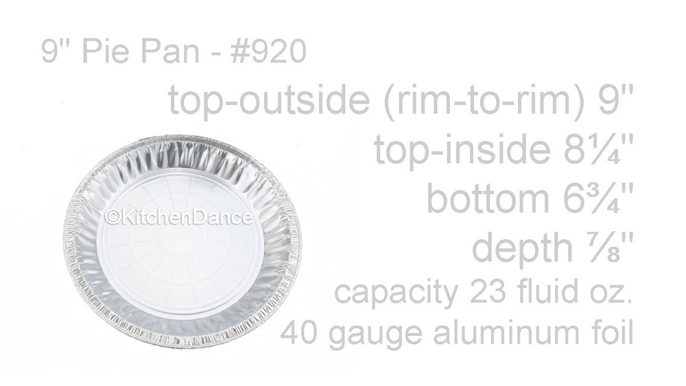 "disposable aluminum foil 9"" pie pan, medium depth baking pan"