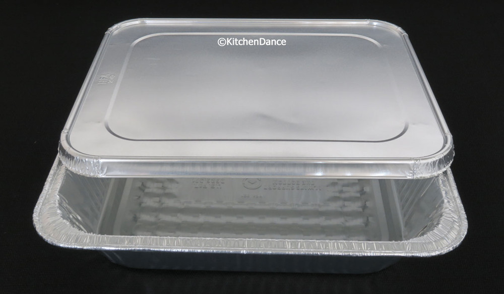 Half-Size Steam Table Aluminum Foil Pan - Deep