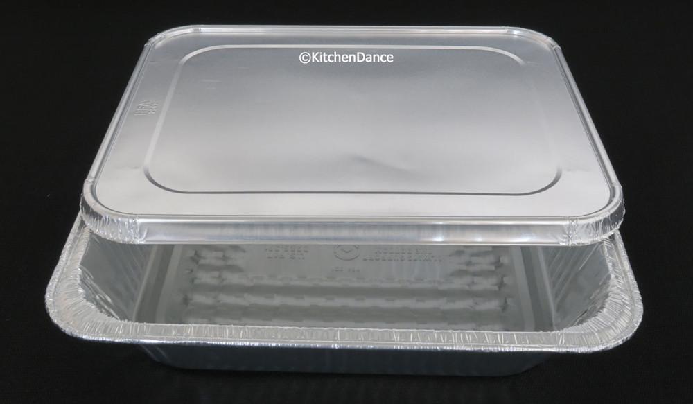 Half-Size Steam Table Aluminum Foil Pan - Deep