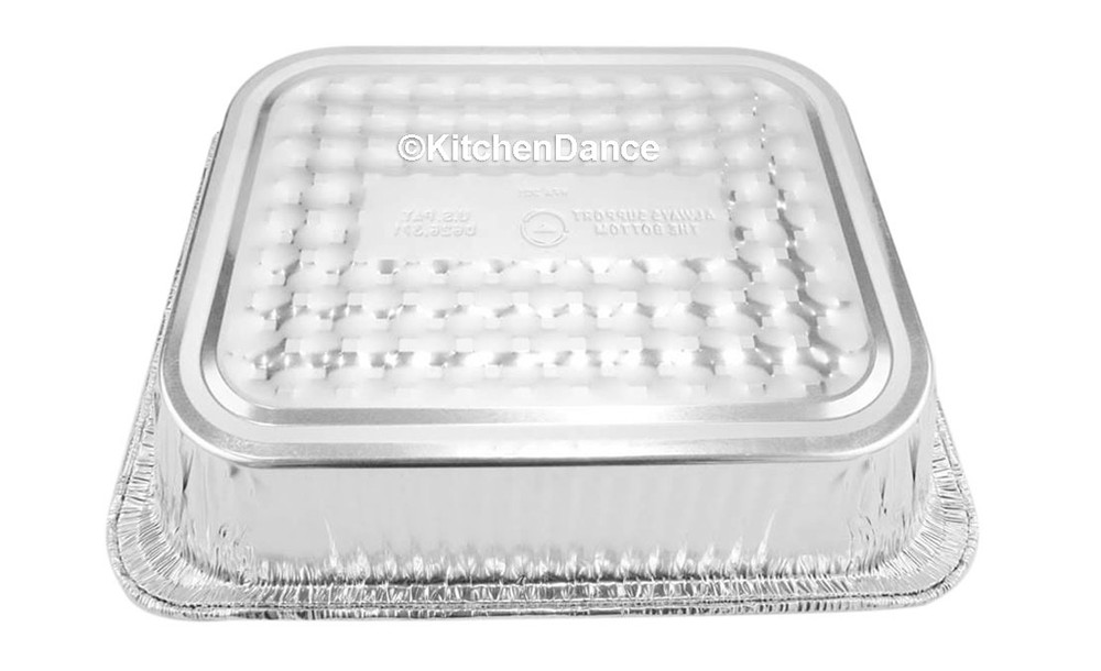 disposable aluminum foil half size steamtalbe baking pan