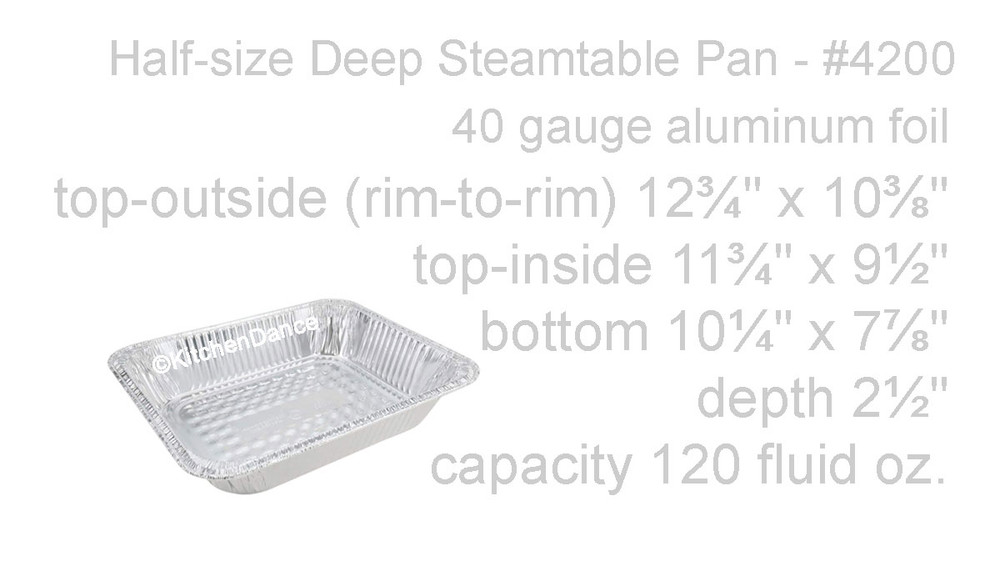 disposable aluminum foil half size steamtable baking pan with foil lid